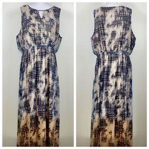 Lane Bryant Tie Dye Maxi Dress